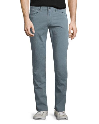 Tyler Slim-Straight Jeans, Dusty Blue