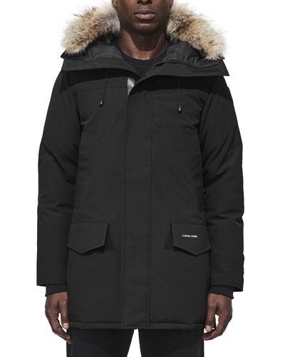 Langford Arctic-Tech Parka Jacket with Fur Hood