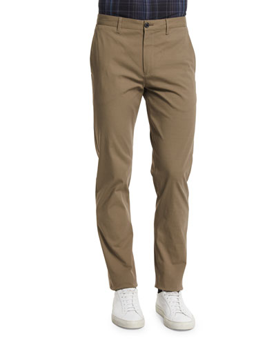 Zaine Slim Straight-Leg Pants