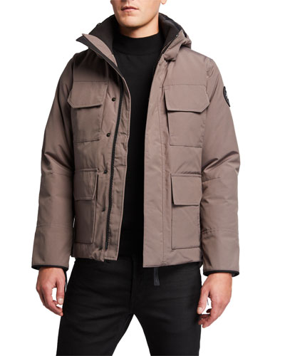 Men's Maitland Hooded Parka Coat