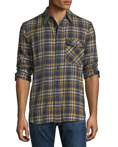 CPO Plaid Classic-Fit Shirt