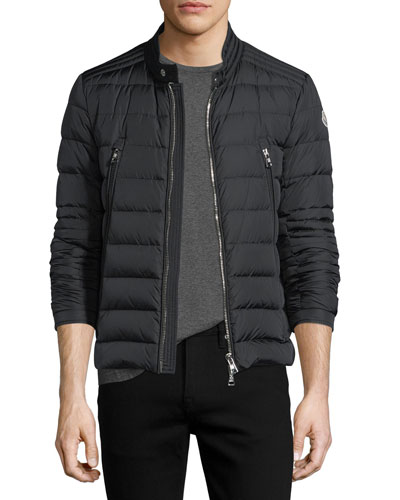 Amiot Short Moto Puffer Jacket