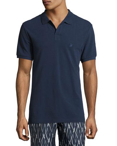 Palan Cotton Pique Polo Shirt
