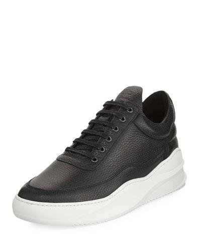 Sky Low-Top Leather Sneaker
