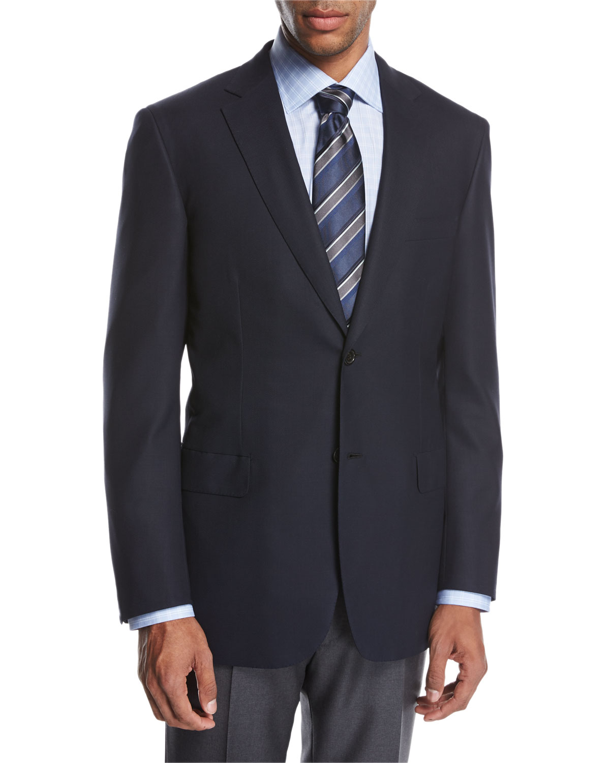 Ravello Wool Two-Button Sport Coat