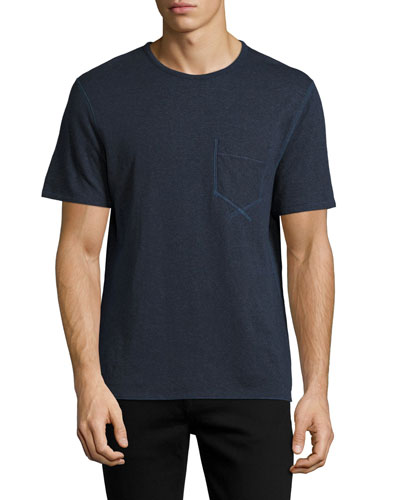 Reversible George T-Shirt, Ink Blue (Navy)