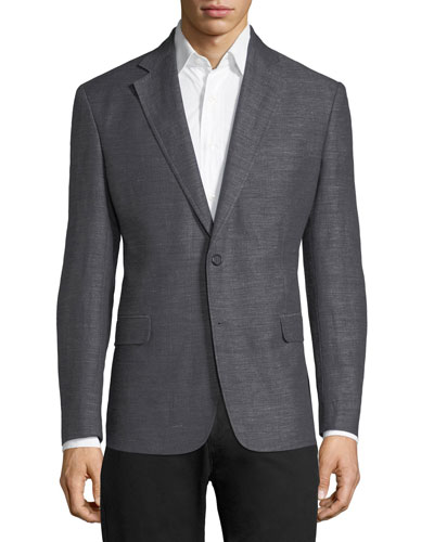 Lexington Classic-Fit Cotton-Linen Sport Jacket