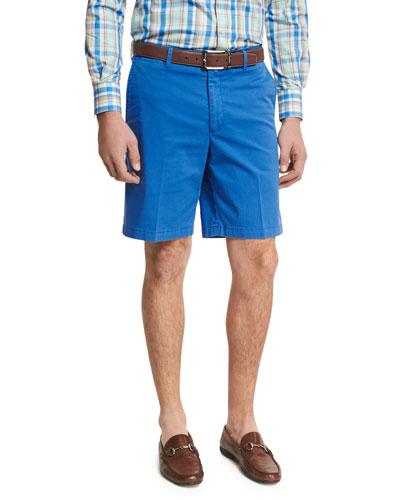 Island Printed Shorts, Blue Pattern