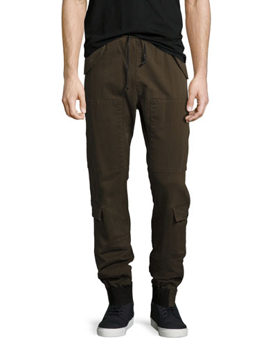 Flight Cargo Pants, Olive