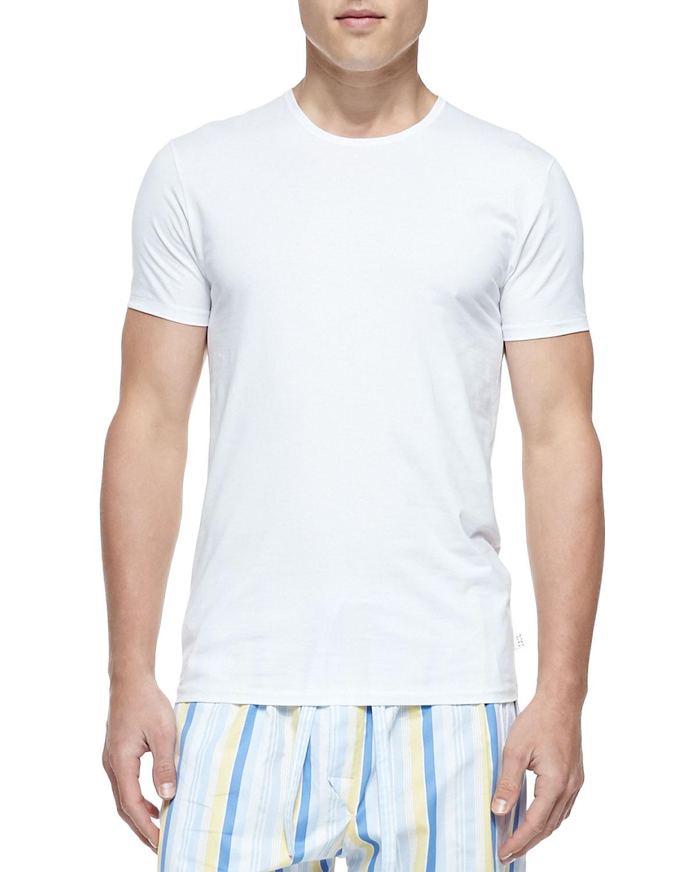 Jack Pima Cotton Stretch Crew Neck Undershirt