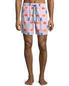 Moorea Turtles Swim Trunks