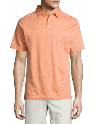 Crown Collection Soft-Stripe Polo Shirt