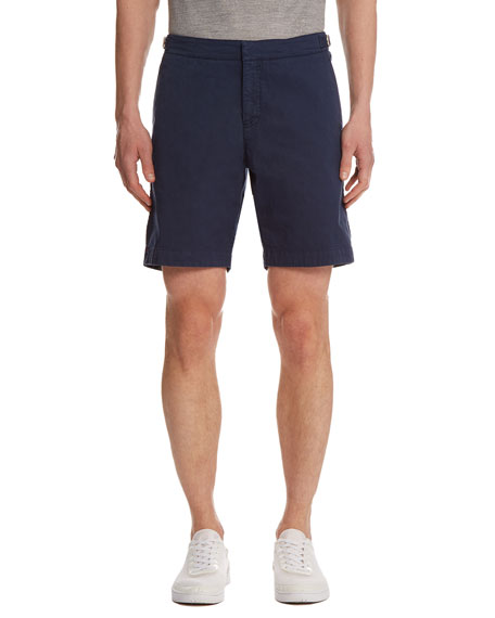 Orlebar Brown Dane Twill Shorts, Navy
