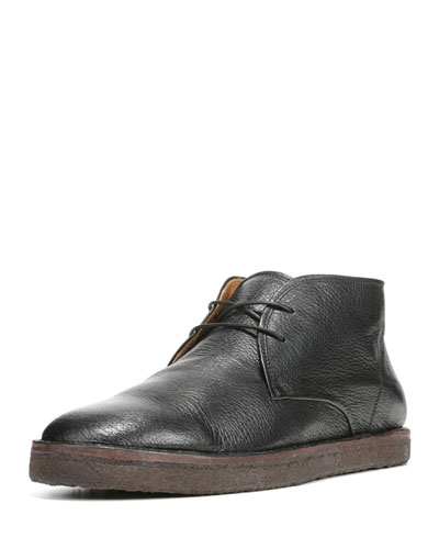 Gregory Leather Chukka Boot, Black