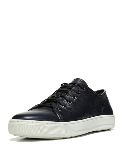 Austin Leather Low-Top Sneaker, Blue