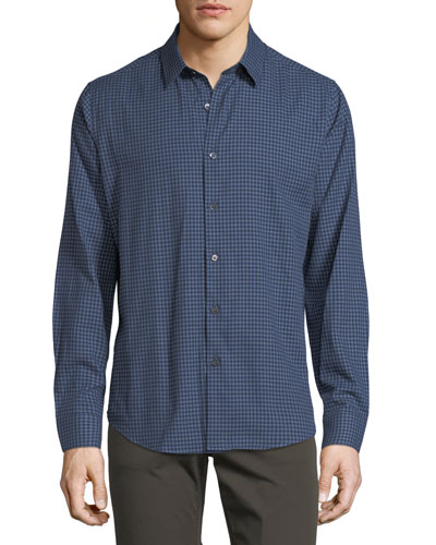 Sylvain Piran Check Shirt