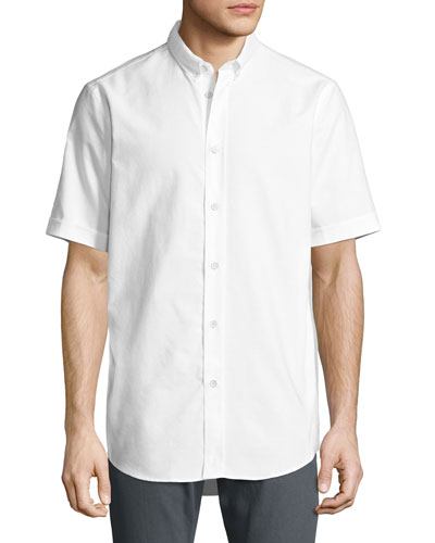 Smith Short-Sleeve Classic-Fit Shirt, White