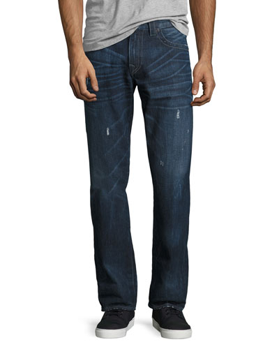 Geno Slim-Straight Jeans, Indigo