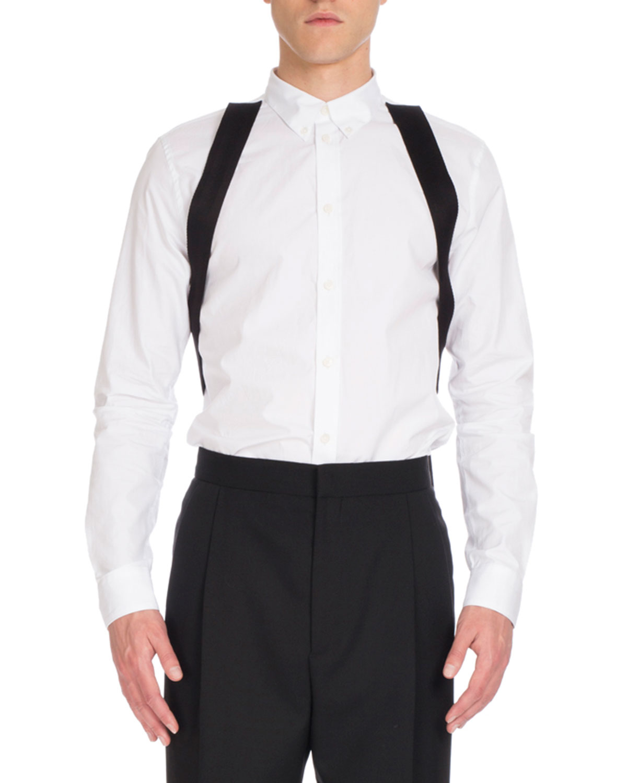 Harness Dress Shirt, White