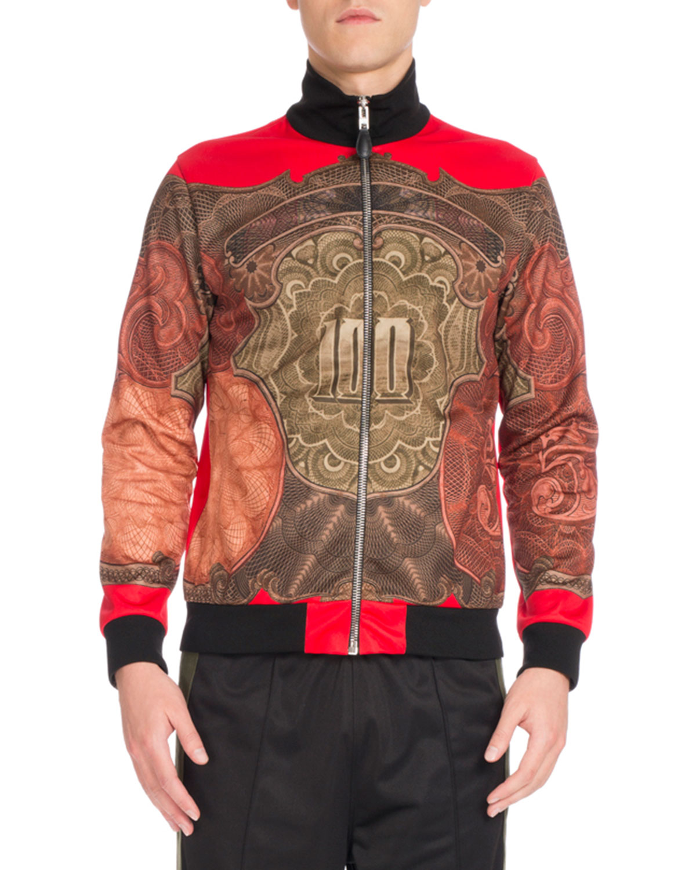 Money Full-Zip Track Jacket, Red