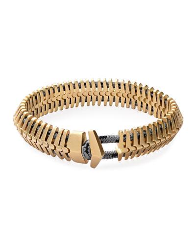 Klink Bracelet, Brass