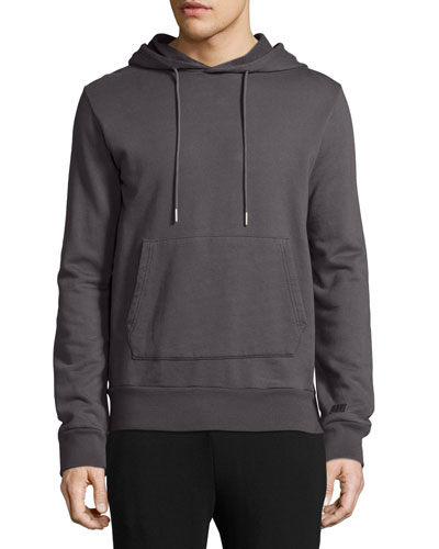 Type-O1 French Terry Hoodie, Cement Gray