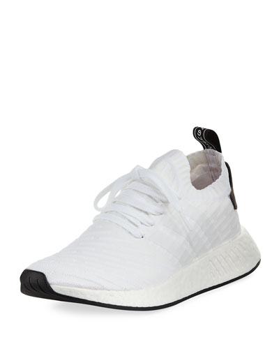 Men's NMD_R2 PK Primeknit Trainer Sneaker