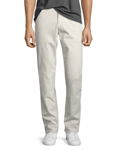 Men's Standard Issue Fit 2 Mid-Rise Relaxed Slim-Fit Chinos, Stone