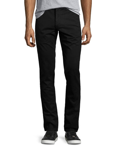 Standard Issue Fit 1 Slim-Skinny Chinos, Black