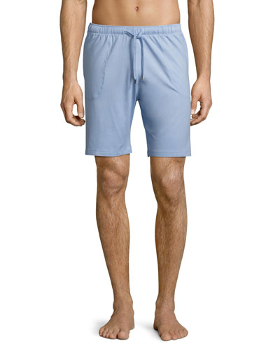 Basel Jersey Lounge Shorts, French Blue