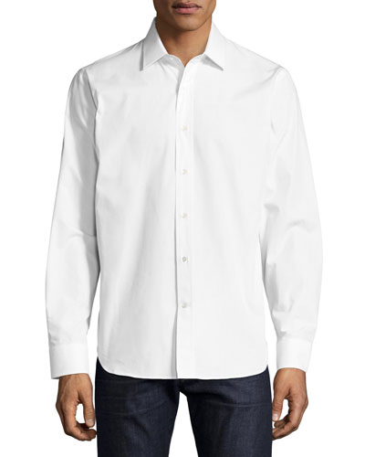 R by Robert Graham Elvis Presley Sport Shirt, White