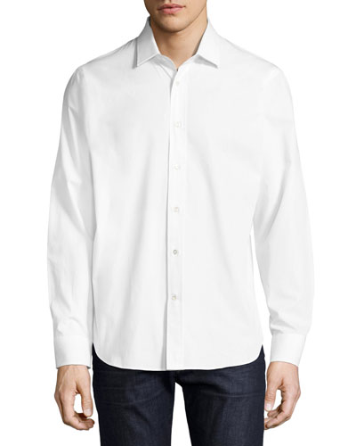 R by Robert Graham Marilyn Monroe Beach Sport Shirt, White