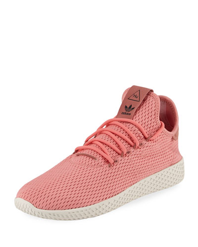 x Pharrell Williams Men's Hu Race Tennis Sneaker, Pink