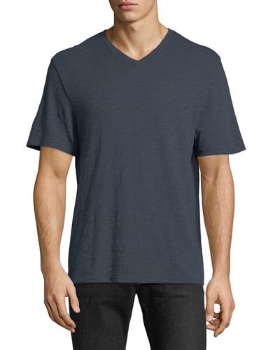 Mallard Classic Slub V-Neck T-Shirt
