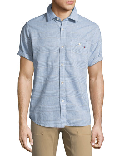 Raya Short-Sleeve Sport Shirt