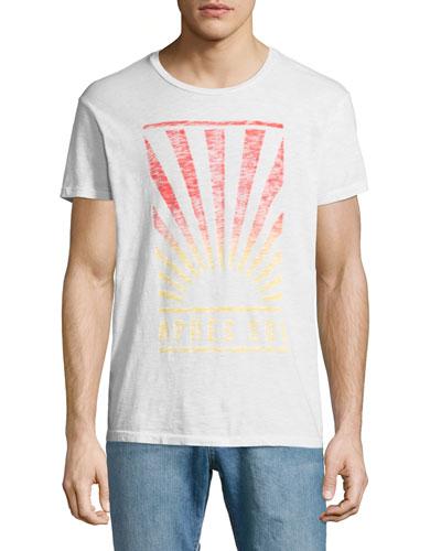 Après Sol Sunburst T-Shirt, White