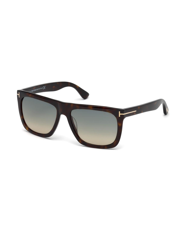 Morgan Thick Square Acetate Sunglasses