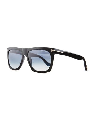 51c560fdca8d Quick Look. TOM FORD · Morgan Thick Square Acetate Sunglasses ...