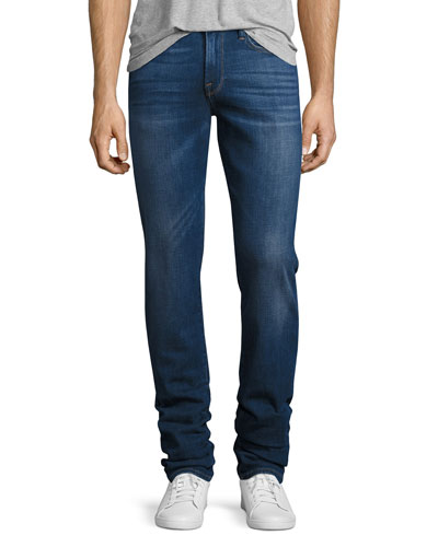 L'Homme Slim-Straight Denim Jeans, Pipestone (blue)