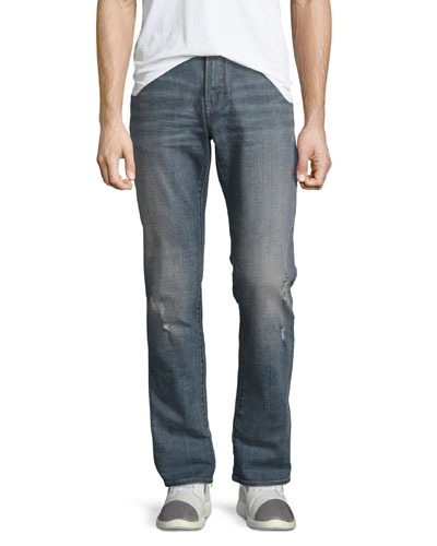 Bowery Slim-Straight Jeans, Blue