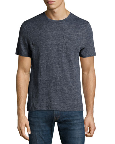 Monad Linen Pocket T-Shirt