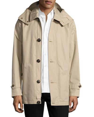 Darnsbury Hooded Field Jacket, Stone