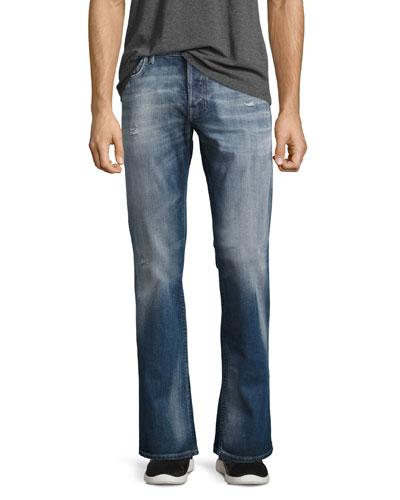 Zatiny L.32 Slim-Straight Jeans, Blue