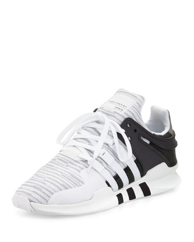 Men's EQT Support ADV Sneaker, White/Black