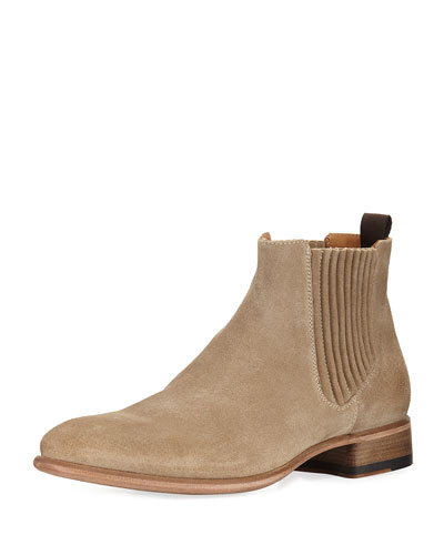 Eldridge Suede Chelsea Boot, Brown