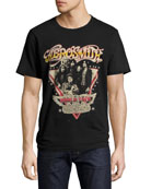 Aerosmith World Tour T-Shirt, Black