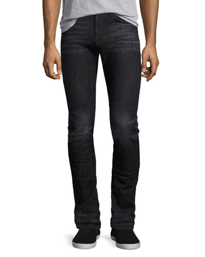 Axl Stretch-Denim Skinny Jeans, Black