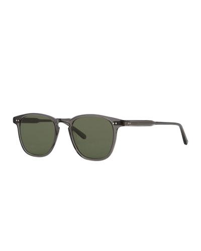 Brooks 47 Square Sunglasses, Gray Crystal