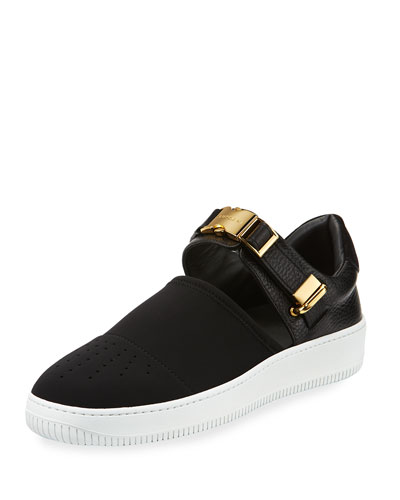 60mm Modern Sport Slip-On Sneaker, Black
