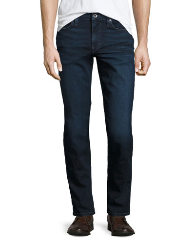 Brixton Kinetic Denim Slim-Straight Jeans, Aedan (Blue)